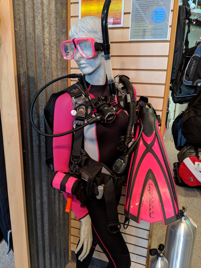 tropical package total diving system