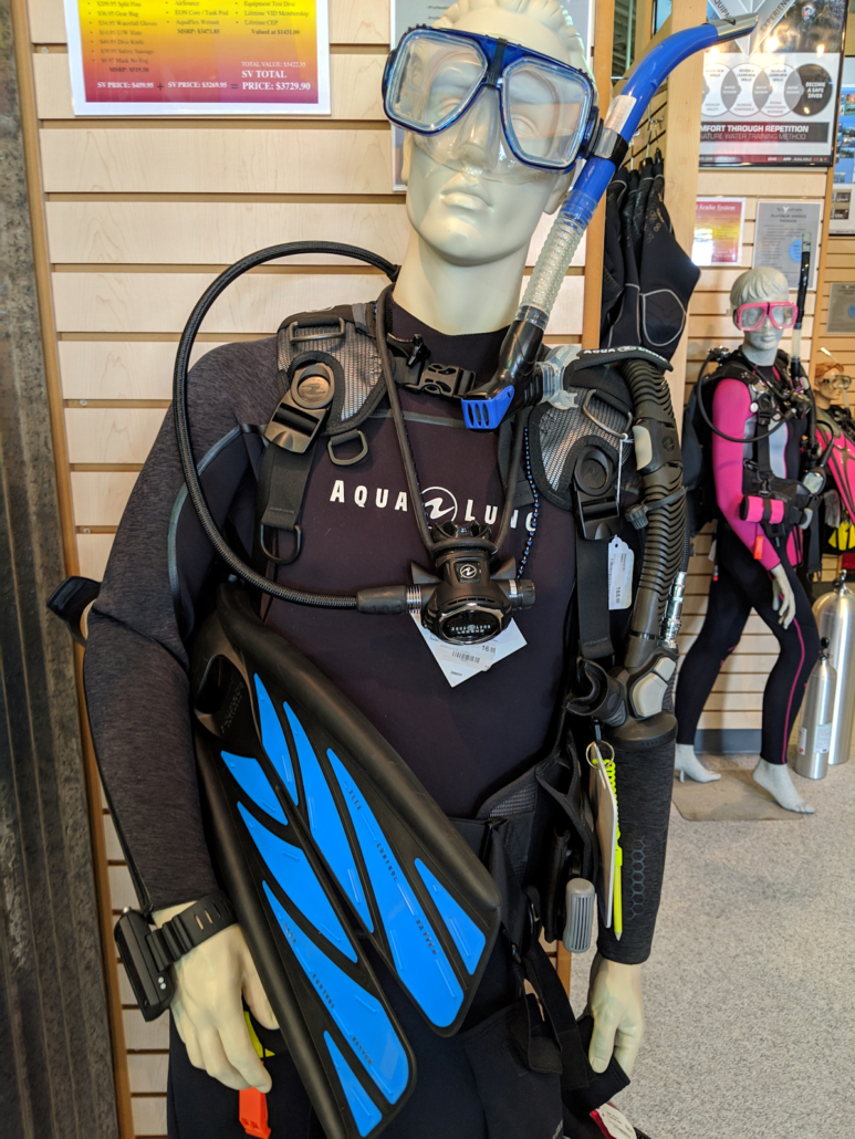 paradise package total diving system