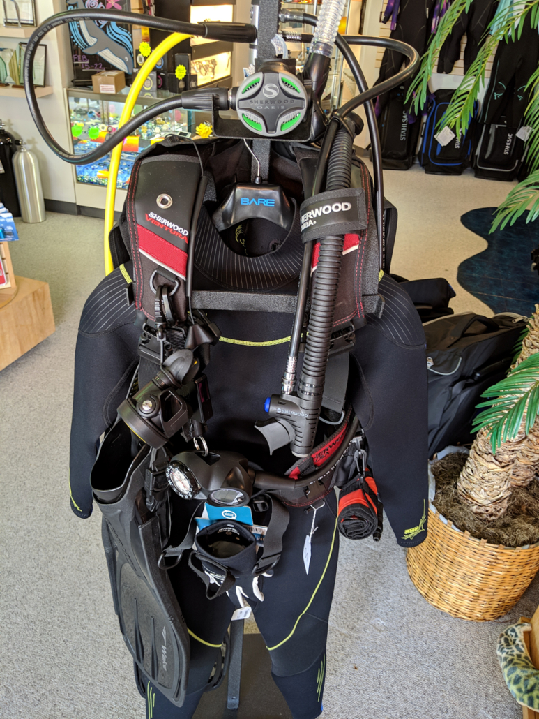reef package total diving system